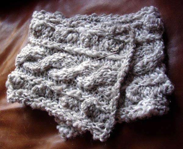 col tricoté