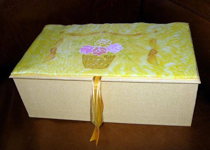 boîte soie