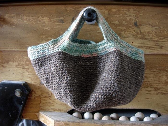sac crocheté