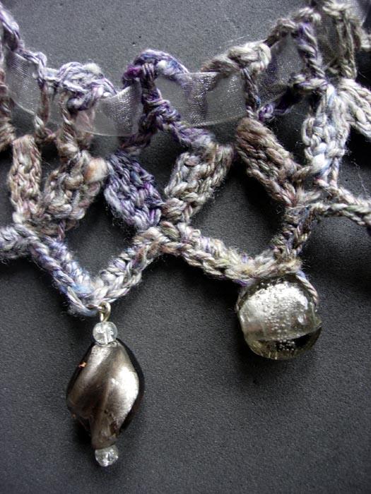 collier au crochet