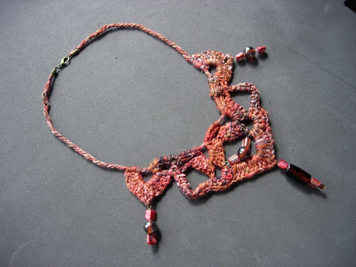 collier crocheté