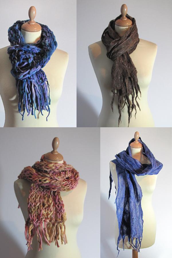 écharpes artisanales