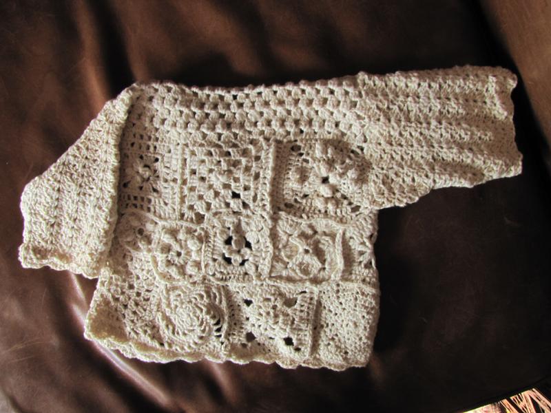 layette coton filé main