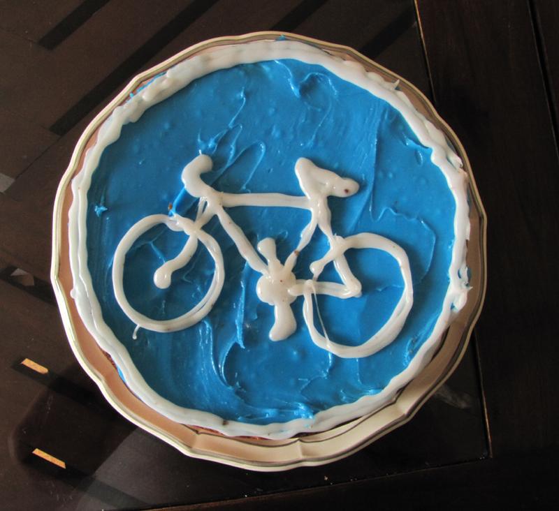 gâteau vélo