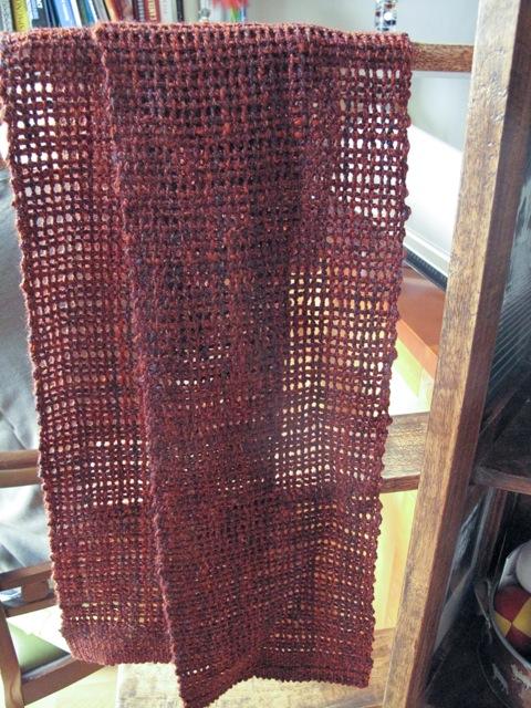 tissage filage leno