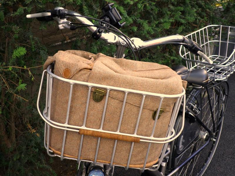 sac pour panier vélo