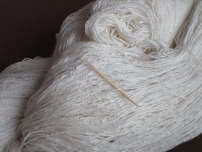 fil artisanal cachemire et soie