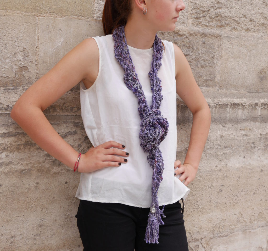 écharpe d'été en coton
