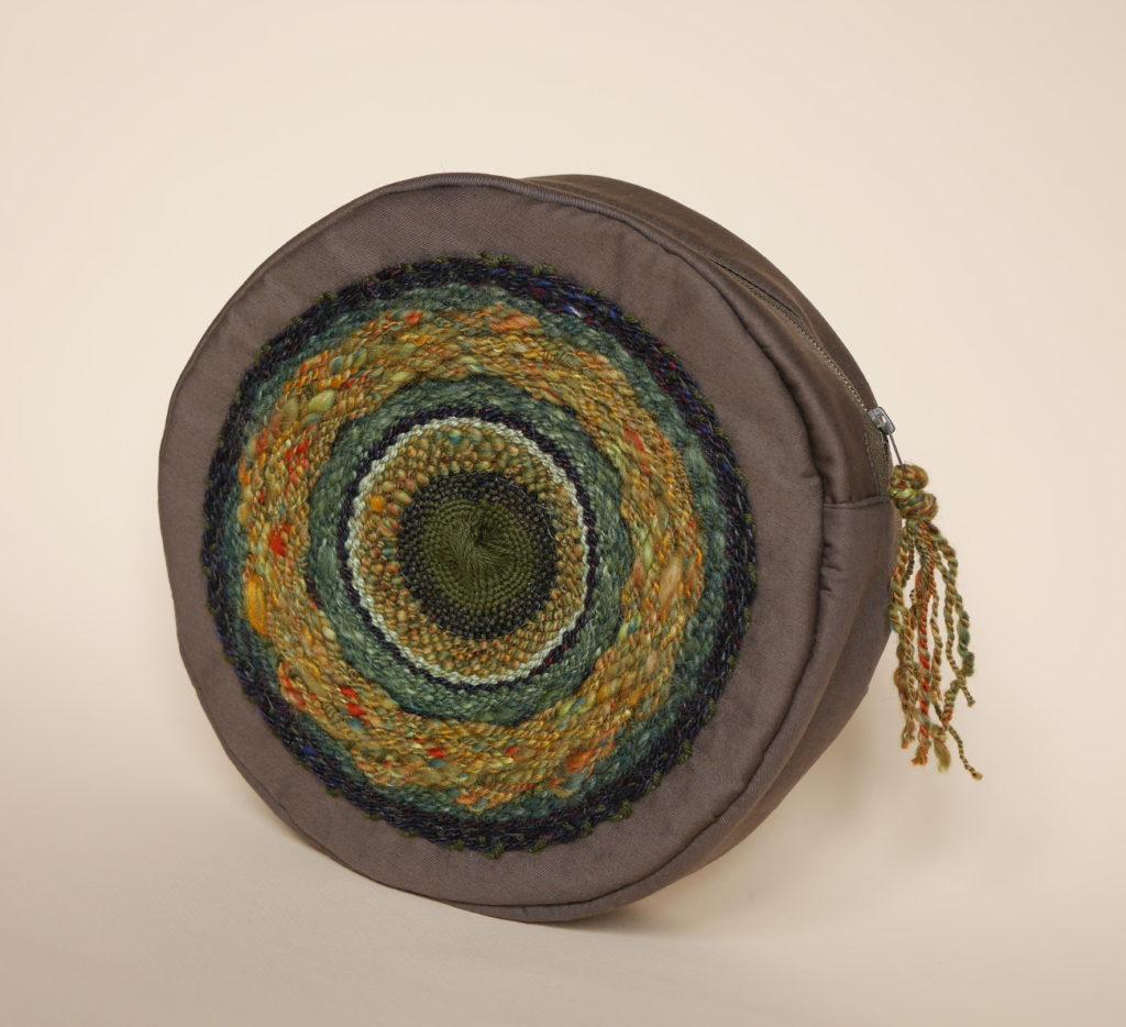 couture pochette tissage circulaire