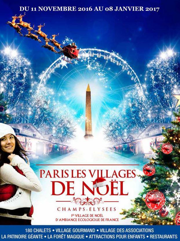 marché de Noël Champs-Élysées