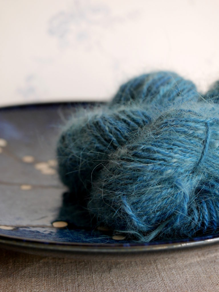 filage artisanal rouet angora