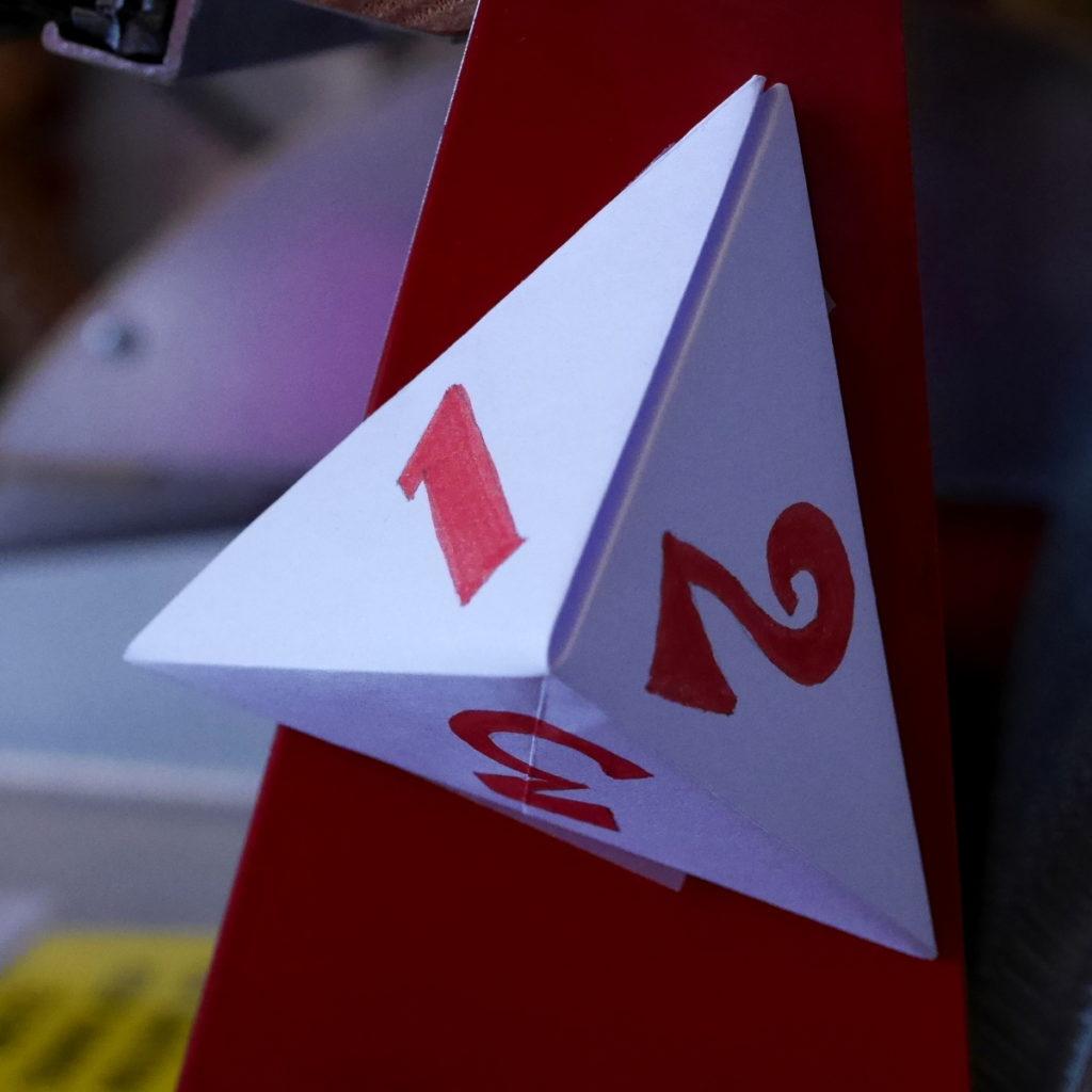 pyramide origami