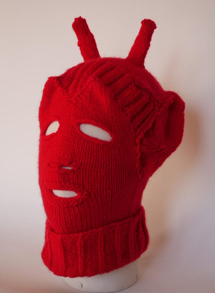 bokaclava tricot ravelry cagoule