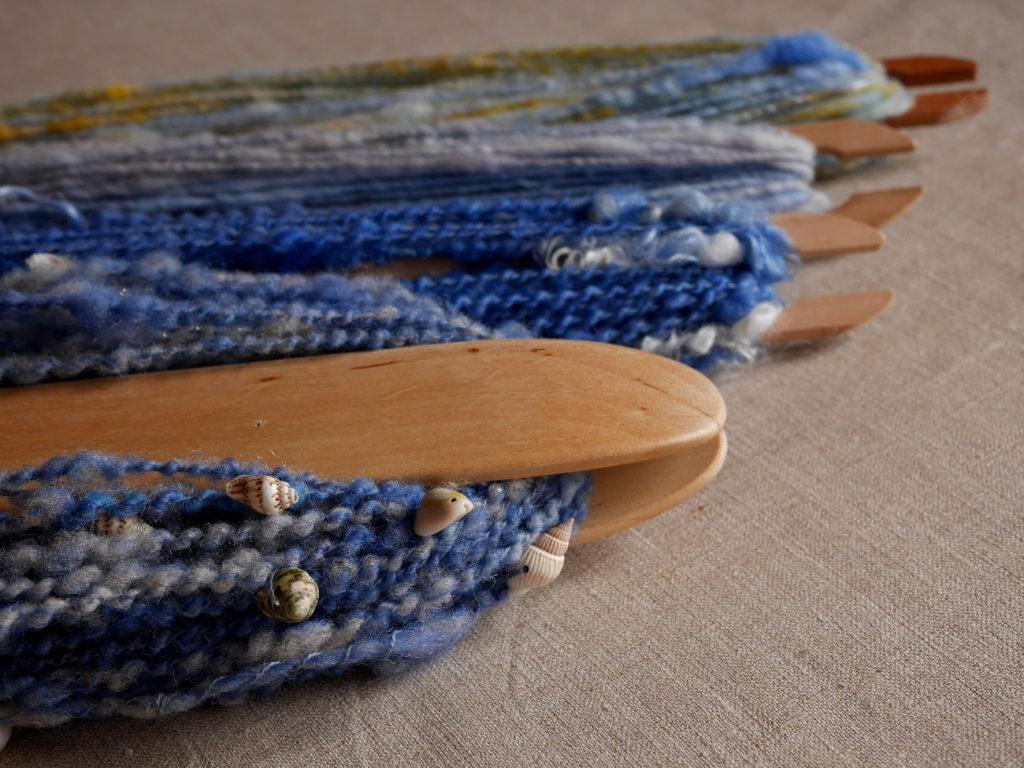 coquillages tissage filage artisanal plage mer