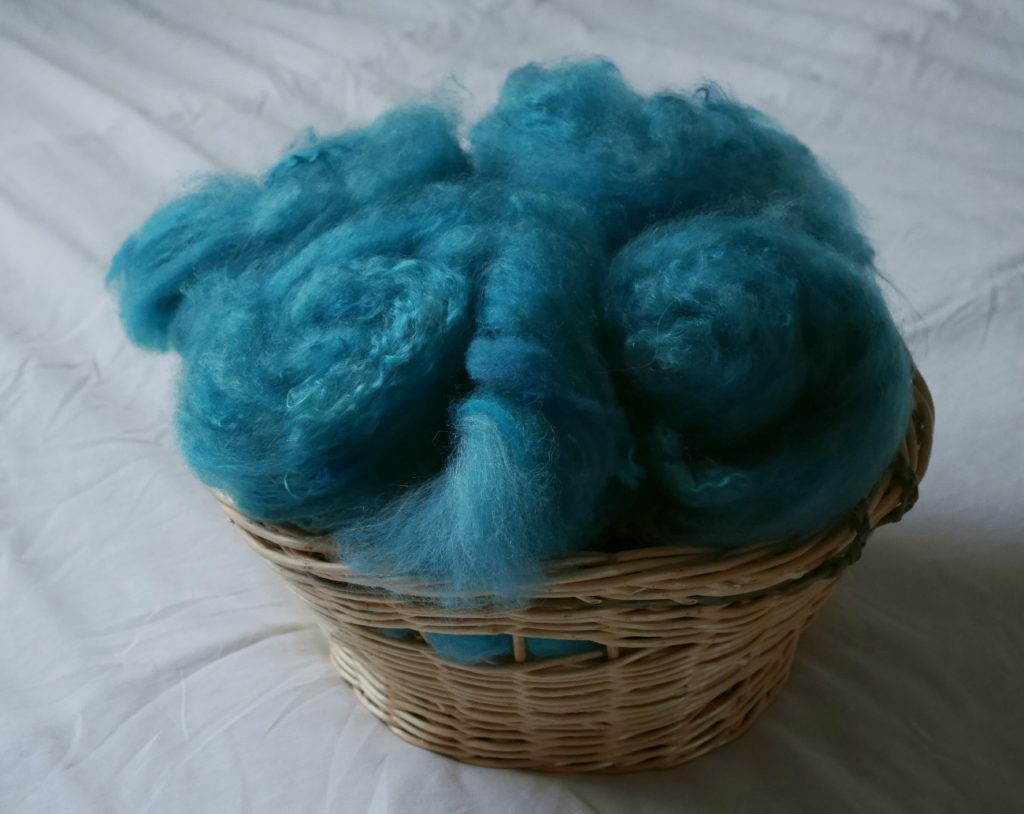filage artisanal teinture de la laine