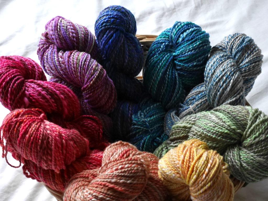 filage artisanal teinture fractale rue de la laine