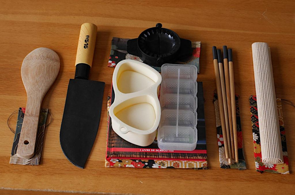 diy faire une trousse cuisine japonaise